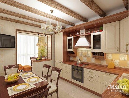Дизайн интерьера и ремонт трехкомнатной квартиры по ул. Авиационная, 16