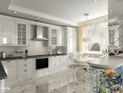 Дизайн проект квартиры на Юмашева