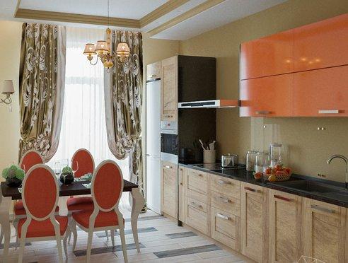 Дизайн интерьера и ремонт трехкомнатной квартиры в Карасьозерском 2