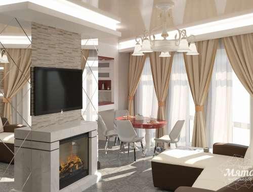 Дизайн интерьера трехкомнатной квартиры по ул. Фурманова 114