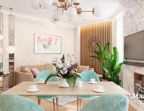 Дизайн интерьера четырехкомнатной квартиры по ул. Блюхера 45