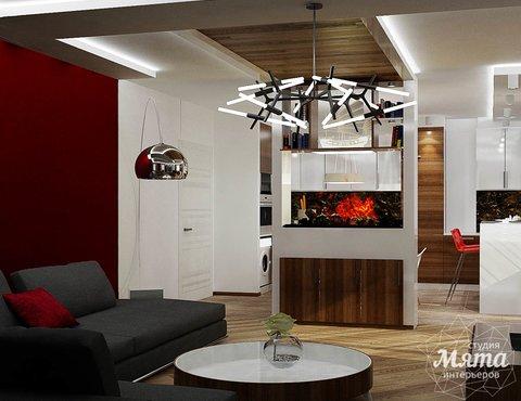 Дизайн интерьера и ремонт трехкомнатной квартиры по ул. Татищева 49