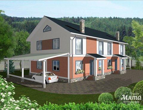 Дизайн-проект фасада коттеджа 335 м2 в КП Лукоморье