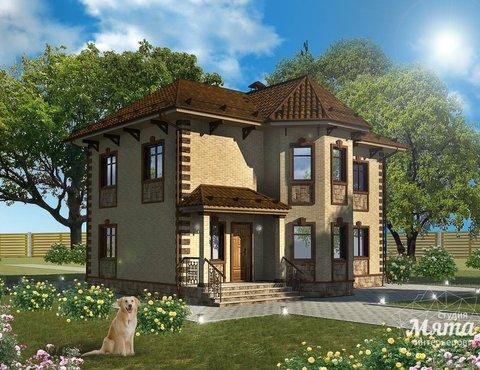 Дизайн фасада дома 160м2