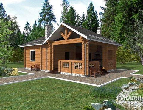 Дизайн фасада дома 65 м2