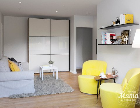 Дизайн интерьера двухкомнатной квартиры по ул. Мира 37а