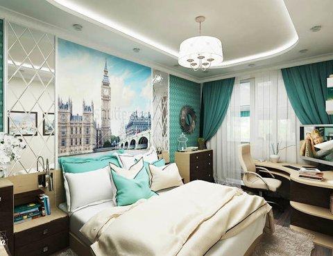 Дизайн интерьера трехкомнатной квартиры по ул. Куйбышева 80/1