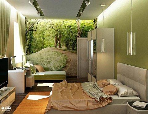 Дизайн интерьера трехкомнатной квартиры по ул. Грибоедова 26
