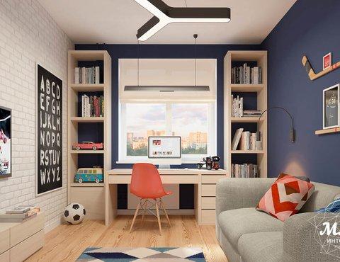 Дизайн интерьера детской комнаты в ЖК Антарес