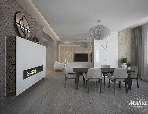 Дизайн интерьера трехкомнатной квартиры в Тихвине 2