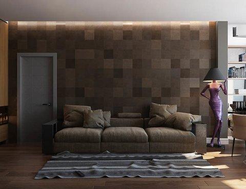 Дизайн интерьера двухкомнатной квартиры по ул. Юмашева 9