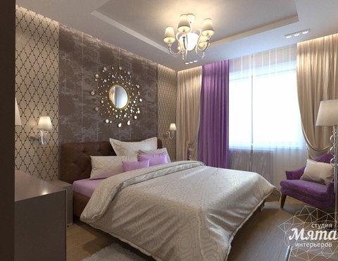Дизайн интерьера трехкомнатной квартиры по ул. Мельникова 27