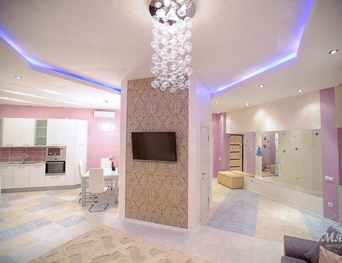 Дизайн интерьера и ремонт трехкомнатной квартиры по ул. Чкалова 124