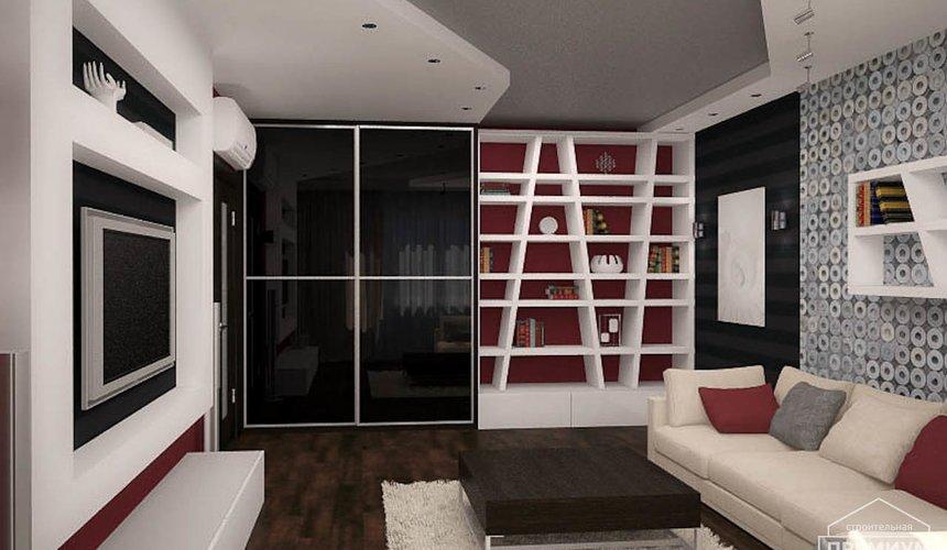 Дизайн интерьера однокомнатной квартиры по ул. Сыромолотова 11 5