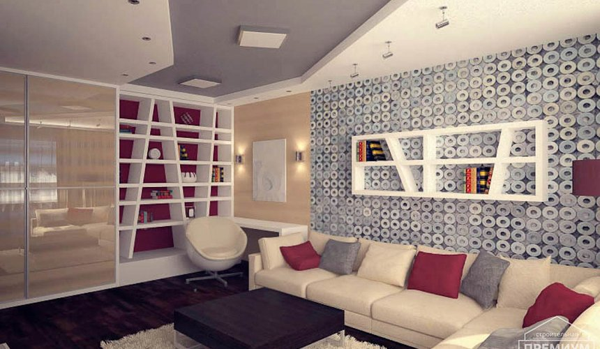 Дизайн интерьера однокомнатной квартиры по ул. Сыромолотова 11 9