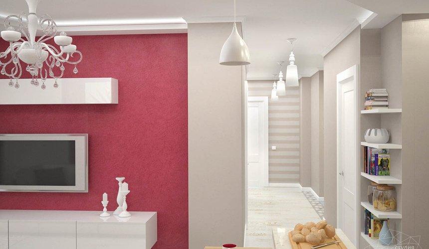 Дизайн интерьера и ремонт трехкомнатной квартиры по ул. Фучика 9 81
