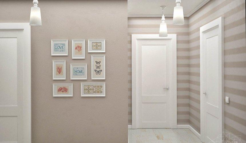 Дизайн интерьера и ремонт трехкомнатной квартиры по ул. Фучика 9 84