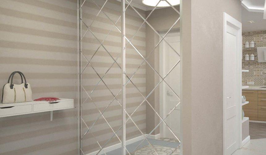 Дизайн интерьера и ремонт трехкомнатной квартиры по ул. Фучика 9 72