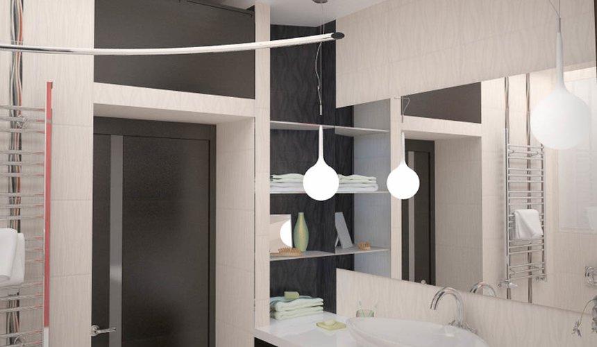 Дизайн интерьера и ремонт трехкомнатной квартиры по ул. Попова 33а 69