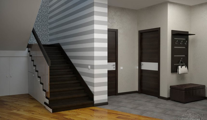 Дизайн проект интерьера коттеджа в стиле минимализм по ул. Барвинка 15 44