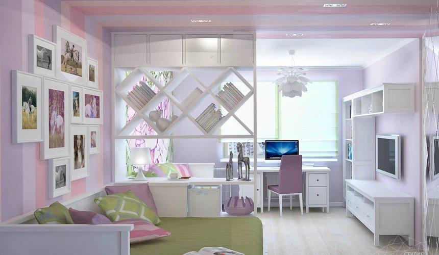 Дизайн интерьера и ремонт трехкомнатной квартиры по ул. Фучика 9 94