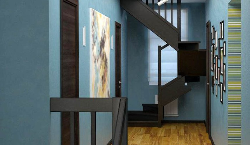 Дизайн проект интерьера коттеджа в стиле минимализм по ул. Барвинка 15 66