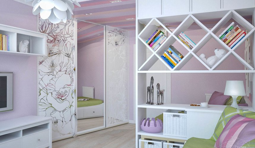 Дизайн интерьера и ремонт трехкомнатной квартиры по ул. Фучика 9 98