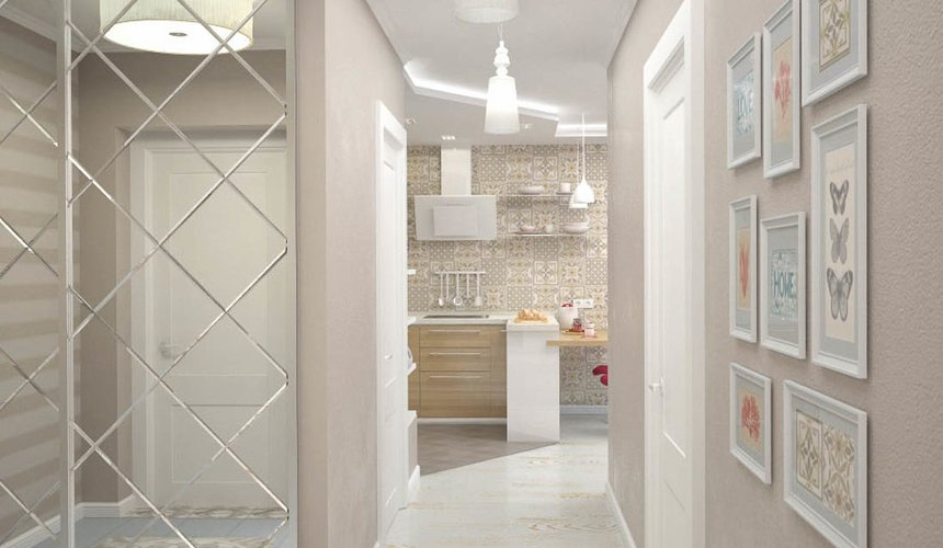 Дизайн интерьера и ремонт трехкомнатной квартиры по ул. Фучика 9 73