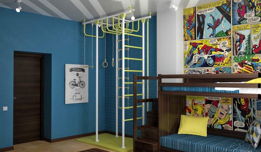 Дизайн проект интерьера коттеджа в стиле минимализм по ул. Барвинка 15 83