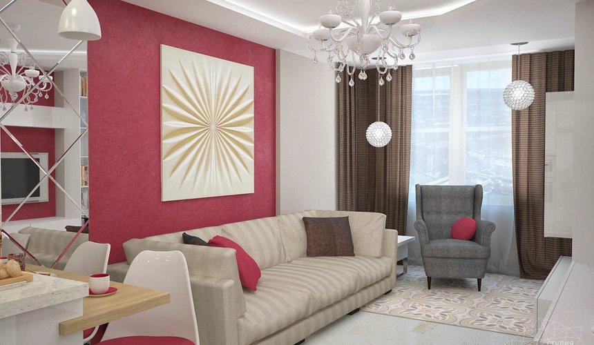 Дизайн интерьера и ремонт трехкомнатной квартиры по ул. Фучика 9 75