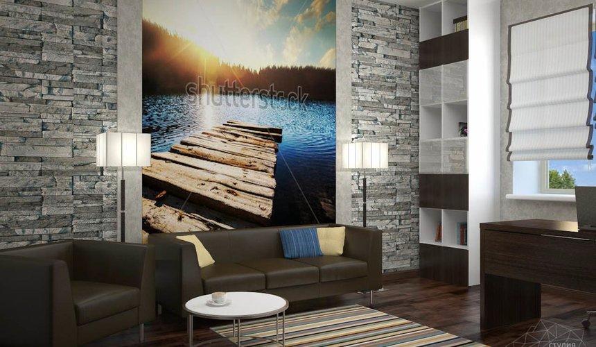 Дизайн проект интерьера коттеджа  в стиле минимализм по ул. Барвинка 15 92