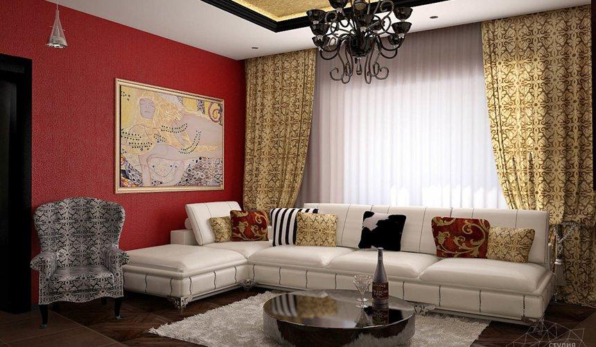 Дизайн интерьера коттеджа первого этажа по ул. Урожайная 17 7