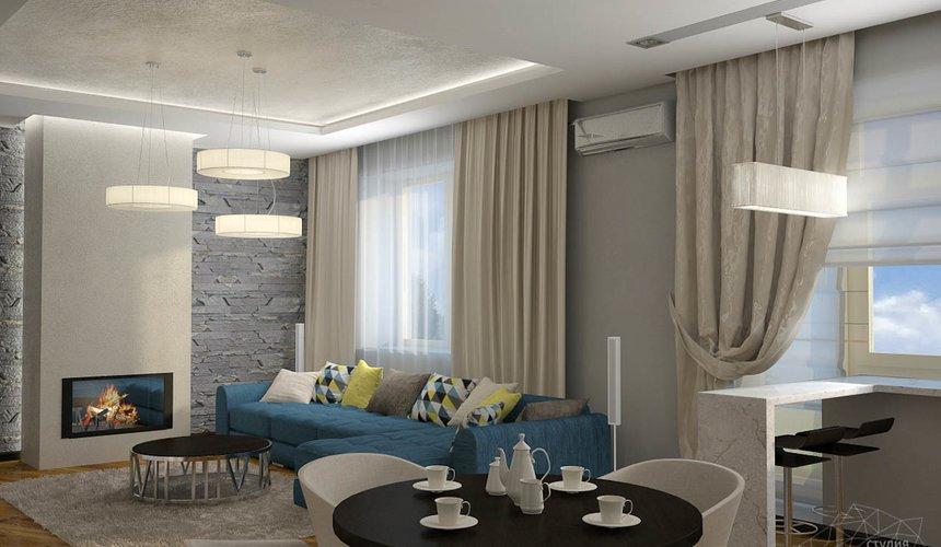 Дизайн проект интерьера коттеджа в стиле минимализм по ул. Барвинка 15 48