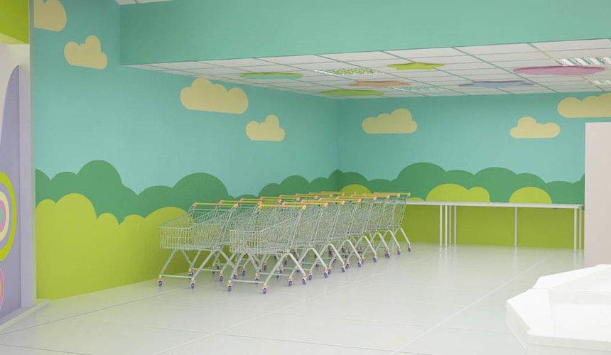 Дизайн интерьера и ремонт детского гипермаркета по ул. Щербакова 4 38