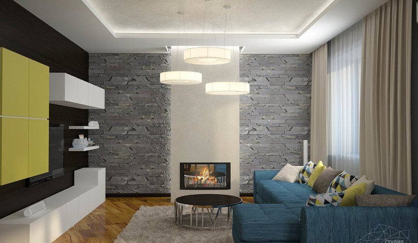 Дизайн проект интерьера коттеджа в стиле минимализм по ул. Барвинка 15 50