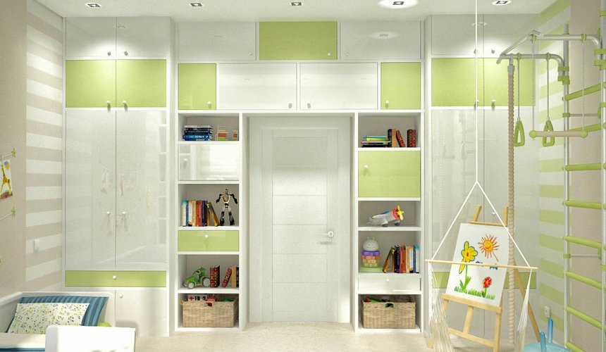 Дизайн интерьера и ремонт трехкомнатной квартиры по ул. Чкалова 124 77