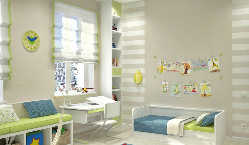 Дизайн интерьера и ремонт трехкомнатной квартиры по ул. Чкалова 124 78