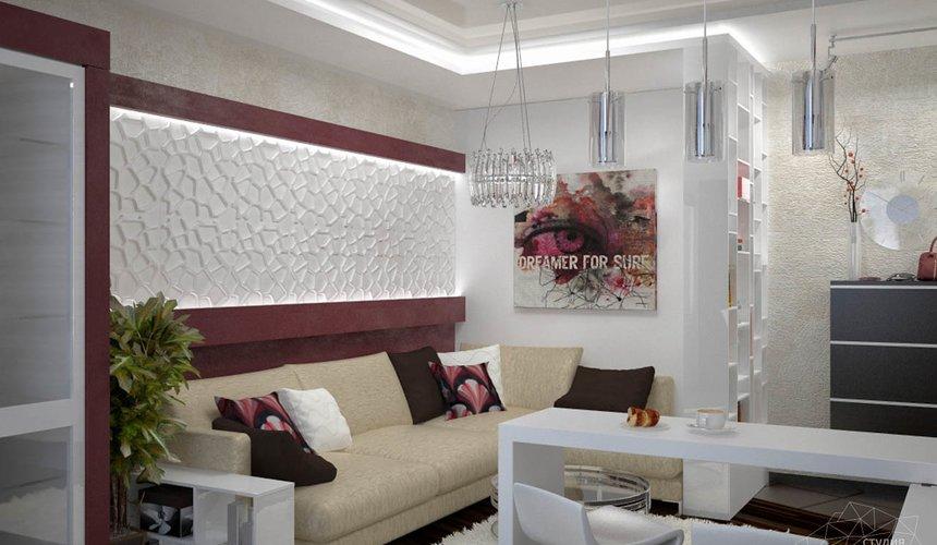 Дизайн интерьера и ремонт трехкомнатной квартиры по ул. Попова 33а 48