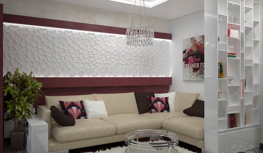 Дизайн интерьера и ремонт трехкомнатной квартиры по ул. Попова 33а 47