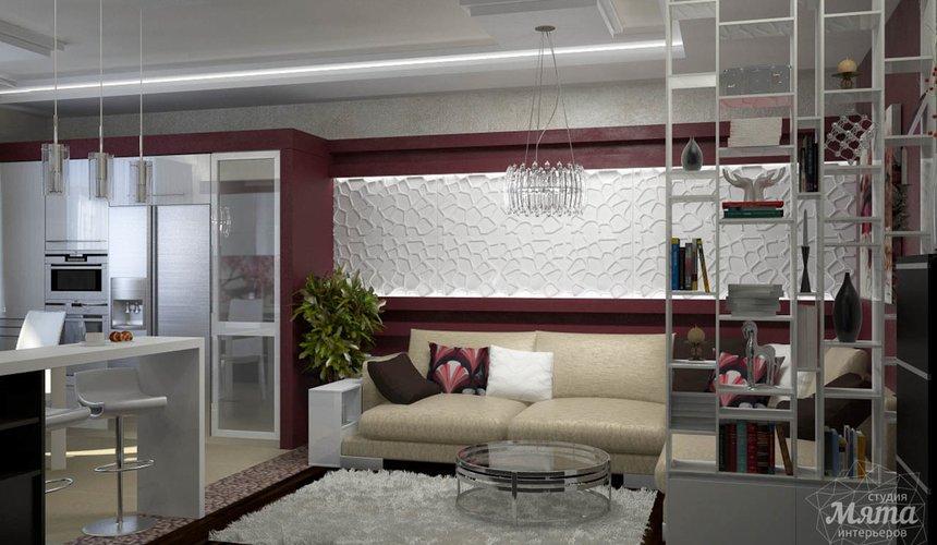 Дизайн интерьера и ремонт трехкомнатной квартиры по ул. Попова 33а 52