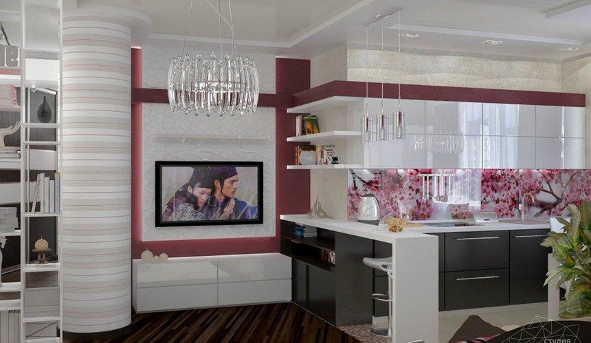 Дизайн интерьера и ремонт трехкомнатной квартиры по ул. Попова 33а 51