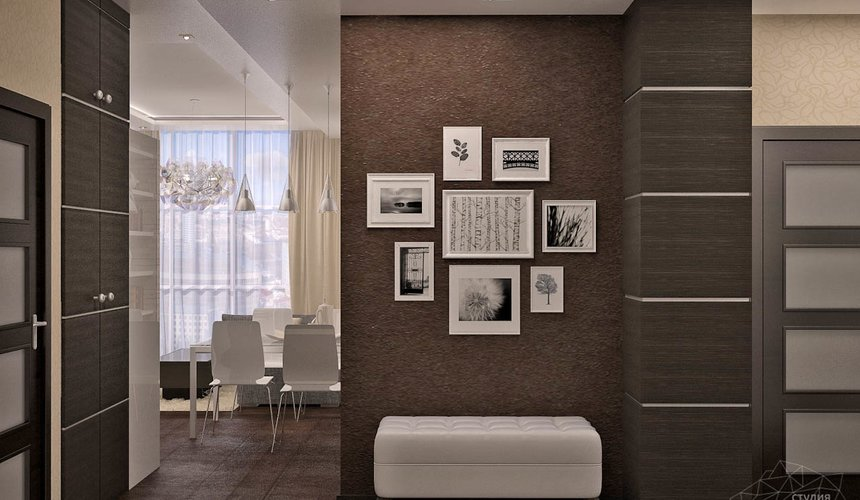 Дизайн интерьера трехкомнатной квартиры по ул. Папанина 18 3