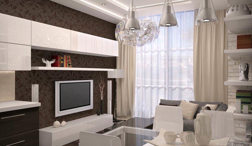 Дизайн интерьера трехкомнатной квартиры по ул. Папанина 18 7