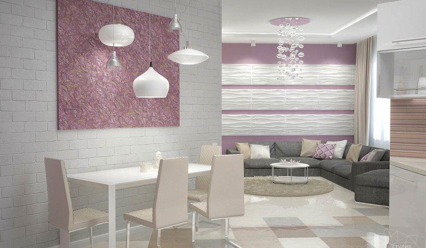 Дизайн интерьера и ремонт трехкомнатной квартиры по ул. Чкалова 124 58