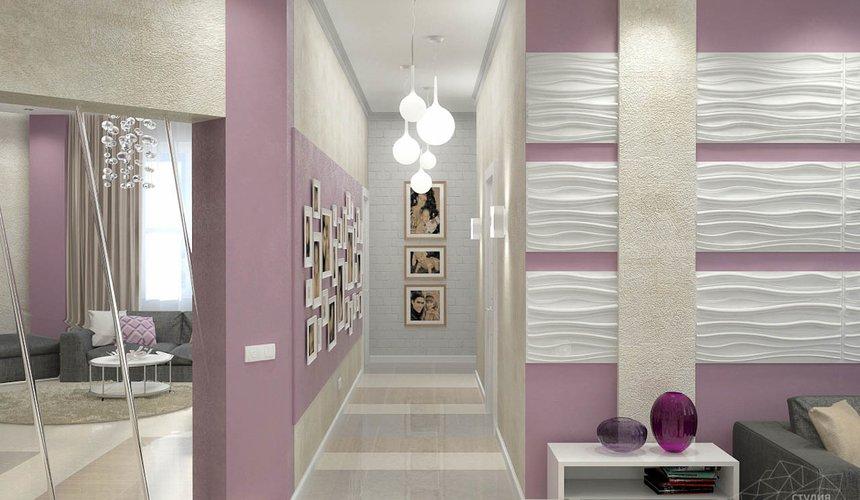 Дизайн интерьера и ремонт трехкомнатной квартиры по ул. Чкалова 124 59