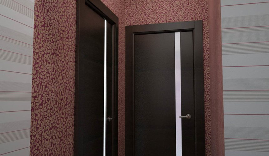 Дизайн интерьера и ремонт трехкомнатной квартиры по ул. Попова 33а 58