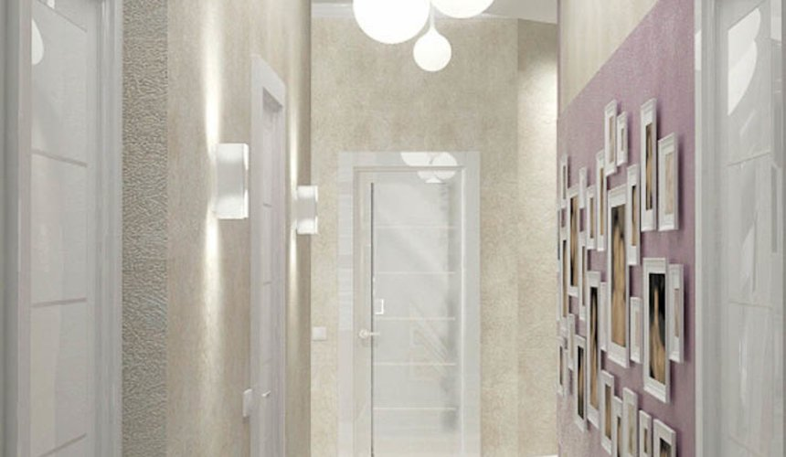 Дизайн интерьера и ремонт трехкомнатной квартиры по ул. Чкалова 124 60