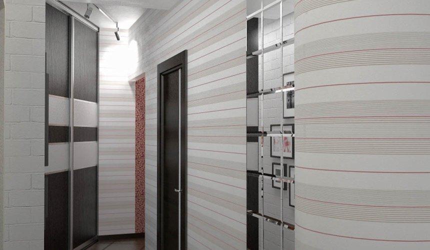 Дизайн интерьера и ремонт трехкомнатной квартиры по ул. Попова 33а 57