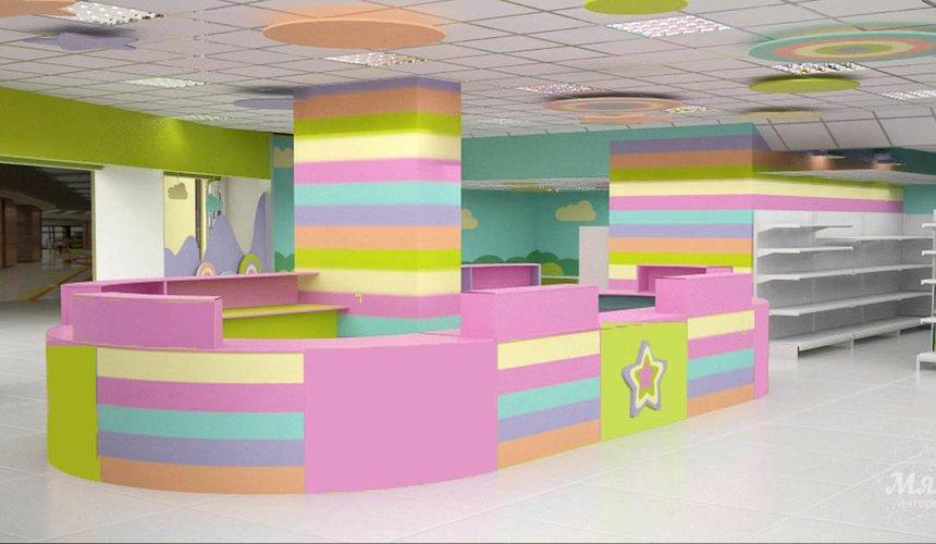 Дизайн интерьера и ремонт детского гипермаркета по ул. Щербакова 4 49
