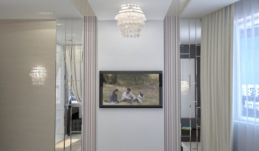 Дизайн интерьера и ремонт трехкомнатной квартиры по ул. Попова 33а 63